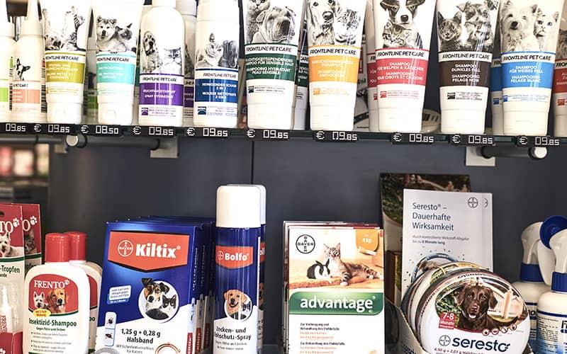 Tiergesundheit und Pflegeprodukte